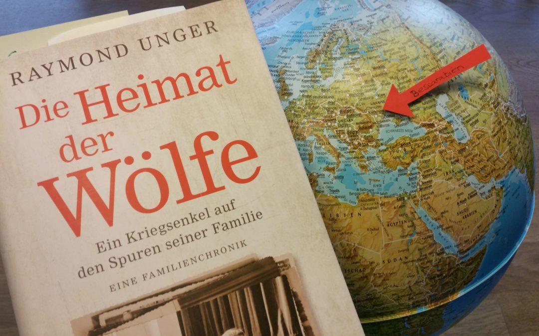 Buchvorstellung: Die Heimat der Wölfe: Ein Kriegsenkel auf den Spuren seiner Familie.
