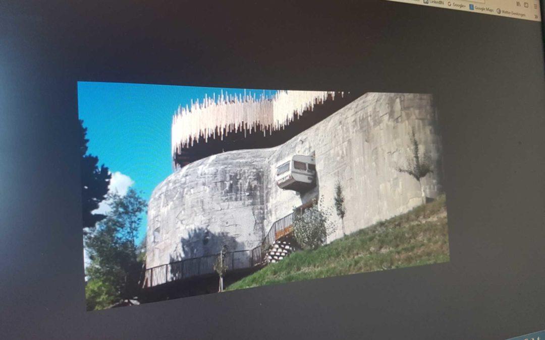 Bunker 23 in Südtirol … Oder die Frage: Warum überall 'OBEN' ist …