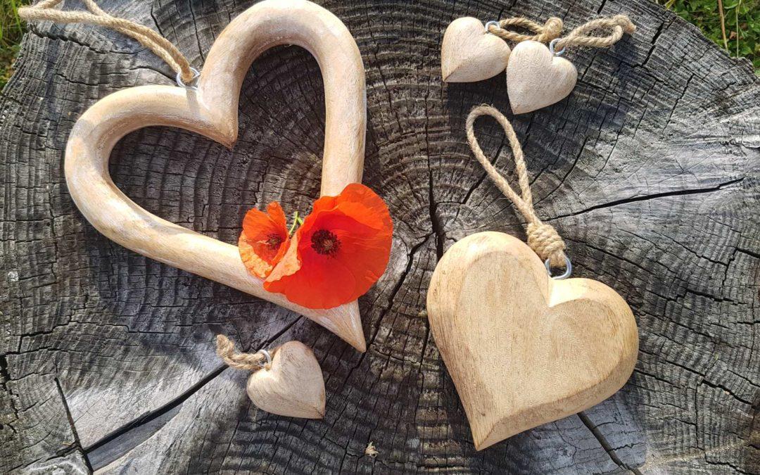 Ein Energie-Herz für meine verletzten Freundinnen! Ein Herz von Herzen!