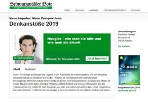 Denkanstoesse Vortrag Naughton Moderation Koehler 2019