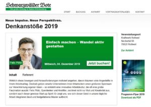 Denkanstoesse Vortrag Ploetz Moderation Koehler 2019