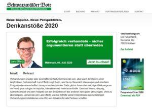 Denkanstoesse 2020-07 Vortrag Effertz Lars Verhandeln