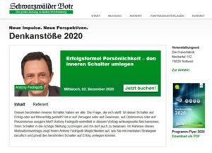 Denkanstoesse 2020-12 Vortrag Fedrigotti Antony Persönlichkeit
