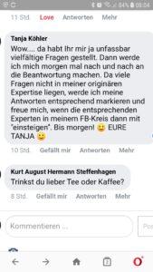 Tanja Koehler Blog Psychologie Veraenderung 2020-02-21 Tee oder Kaffee FB