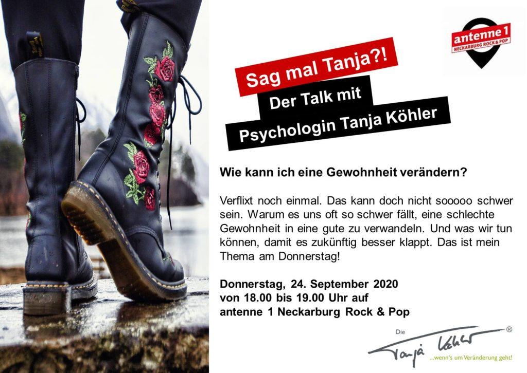 Radiopsychologin Tanja Köhler Wie kann ich eine Gewohnheit ändern
