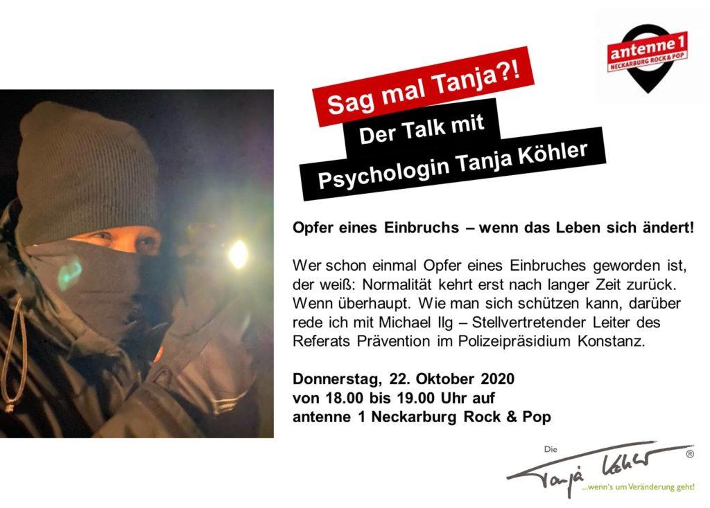 Radiopsychologin Tanja Köhler Einbruch Sicherheit