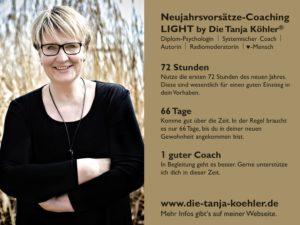 Neujahrsvorsätze Coaching by Tanja Köhler