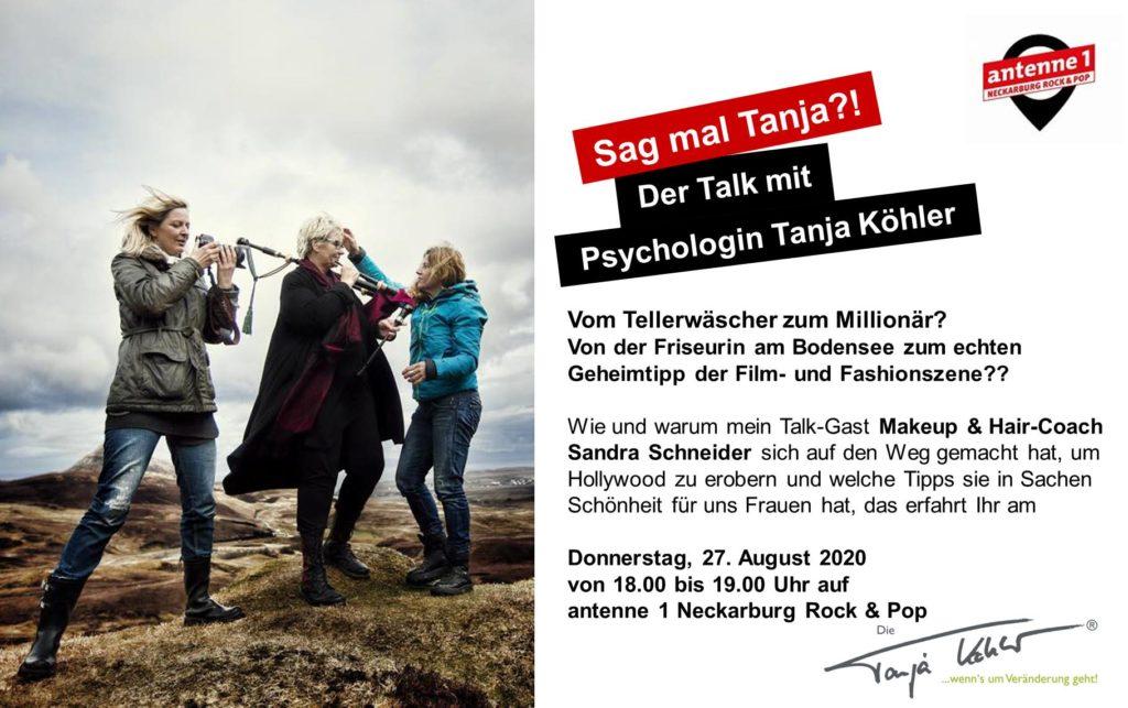 Radiopsychologin Tanja Köhler Schönheit der Frauen Hollywood