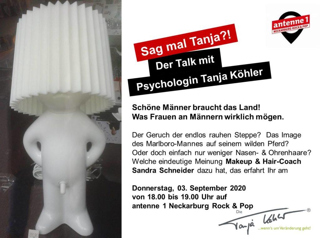 Radiopsychologin Tanja Köhler Schönheit Männer