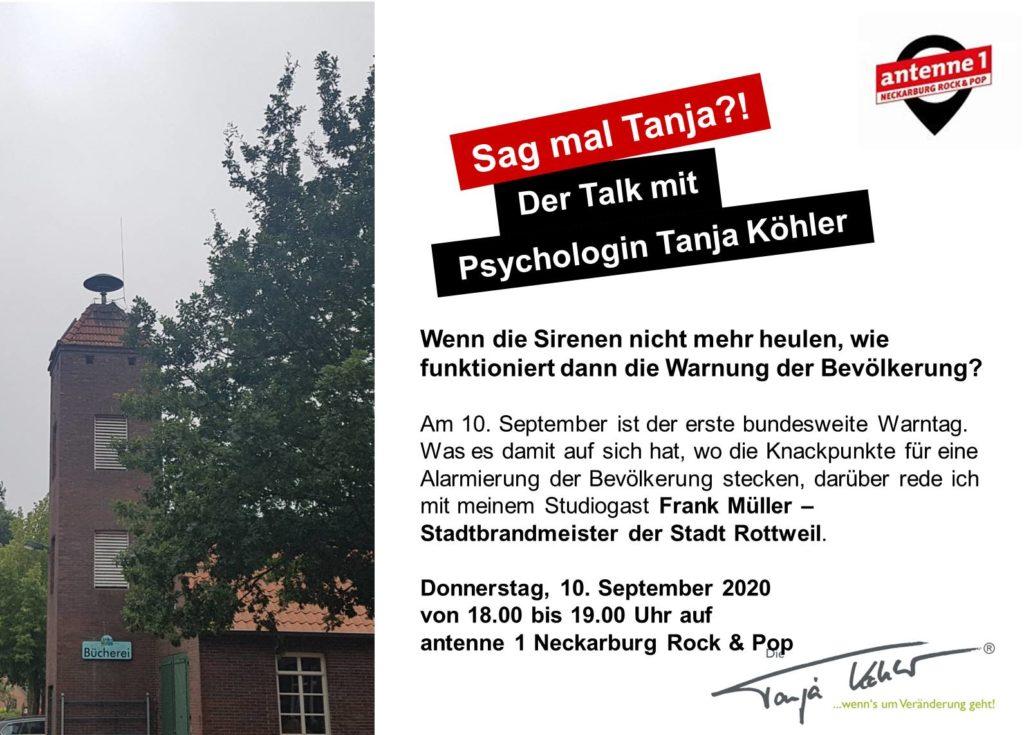 Radiopsychologin Warntag 2020