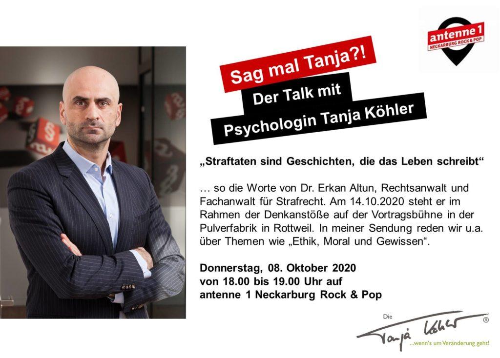 Radiopsychologin Tanja Köhler Frage des Gewissens Erkan Altun