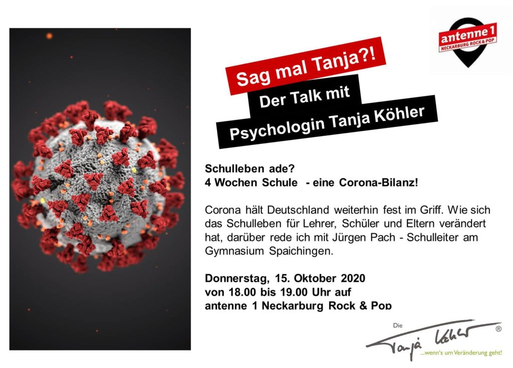 Radiopsychologin Tanja Köhler Schulleben ade Corona Bilanz