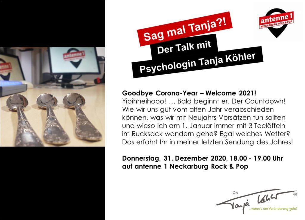 Radiopsychologin Tanja Köhler antenne 1 Neckarburg Silvester 3 Teelöffel Löffelliste