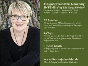 Neujahrsvorsätze Coaching by Tanja Köhler intensiv